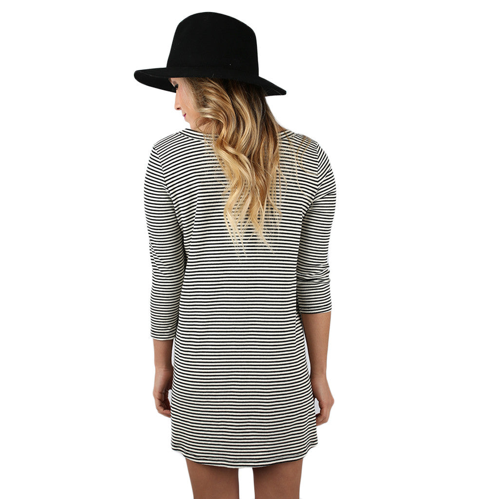 Swing With Me Stripe Tunic