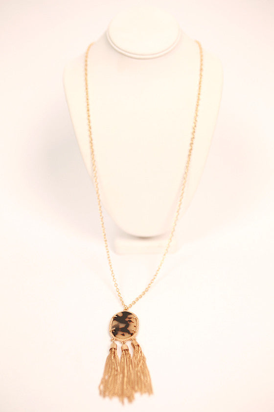 Keeping Traditions Necklace Tortoise