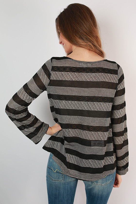A Day for Stripes Top