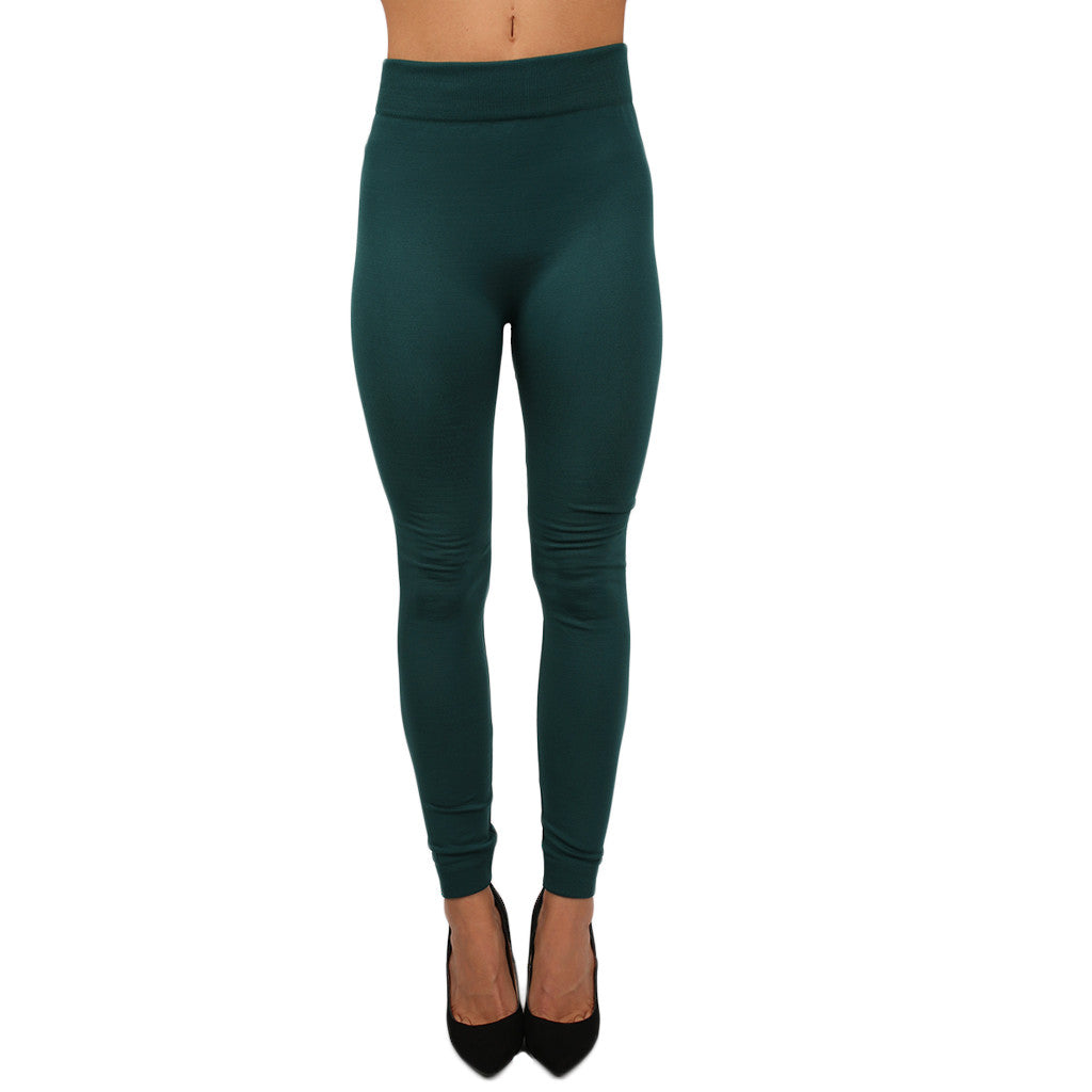 Lazy Sunday Legging in Emerald