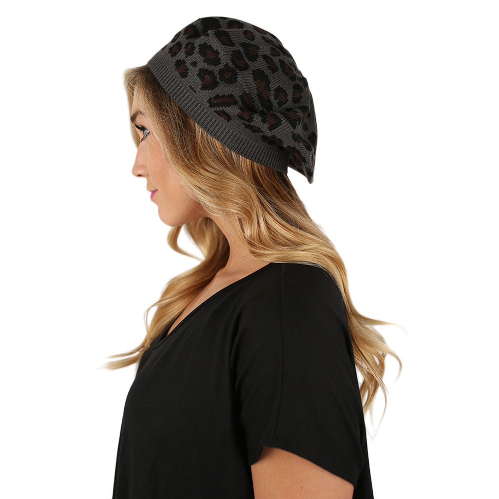 Hot Cocoa Nights Beanie Charcoal