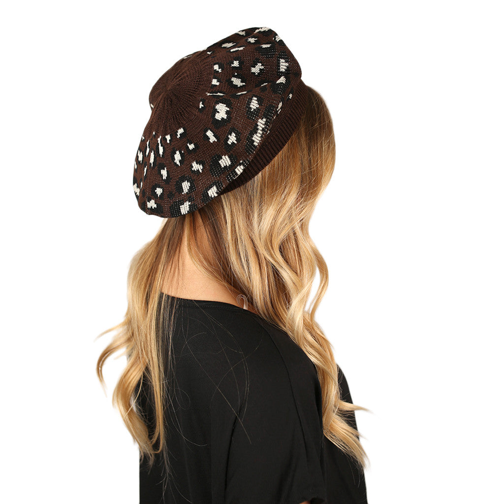 Hot Cocoa Nights Beanie Brown