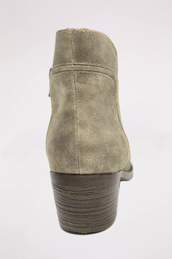 Ground Floor Bootie Metallic