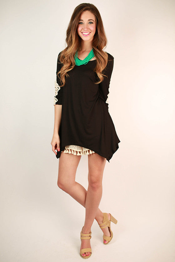 Timeless Beauty Top in Black