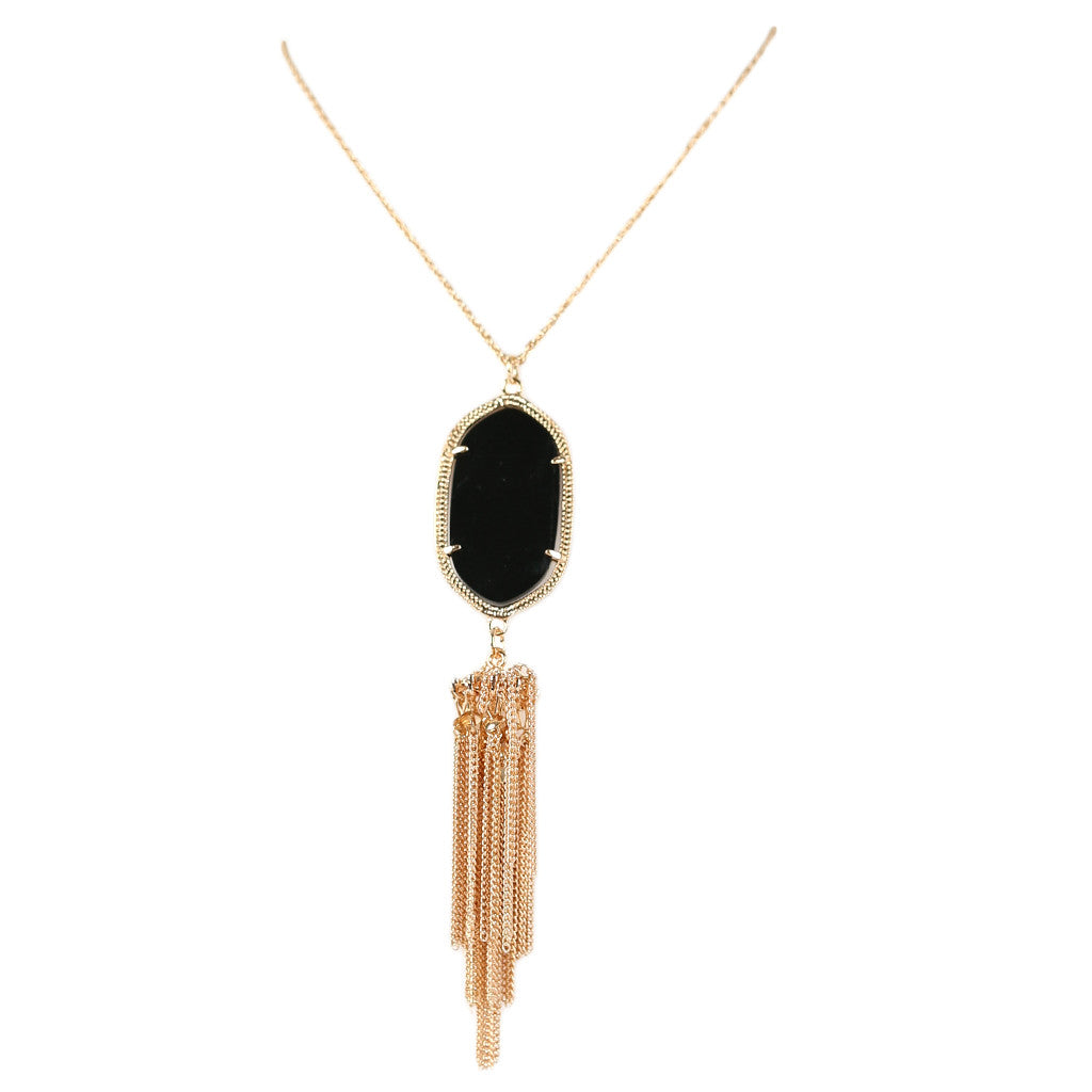 Keeping Traditions Necklace Black