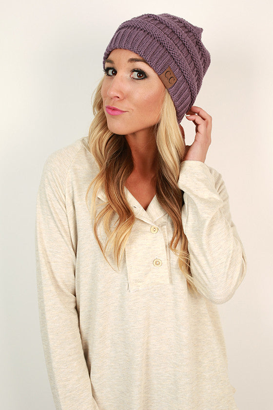 Beanie Beautiful in Violet
