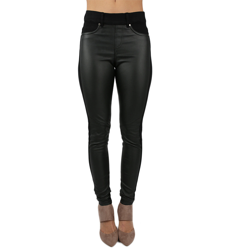 Finishing Touch Faux Leather Pants