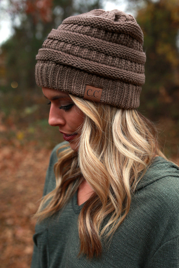 Beanie Beautiful in Mocha