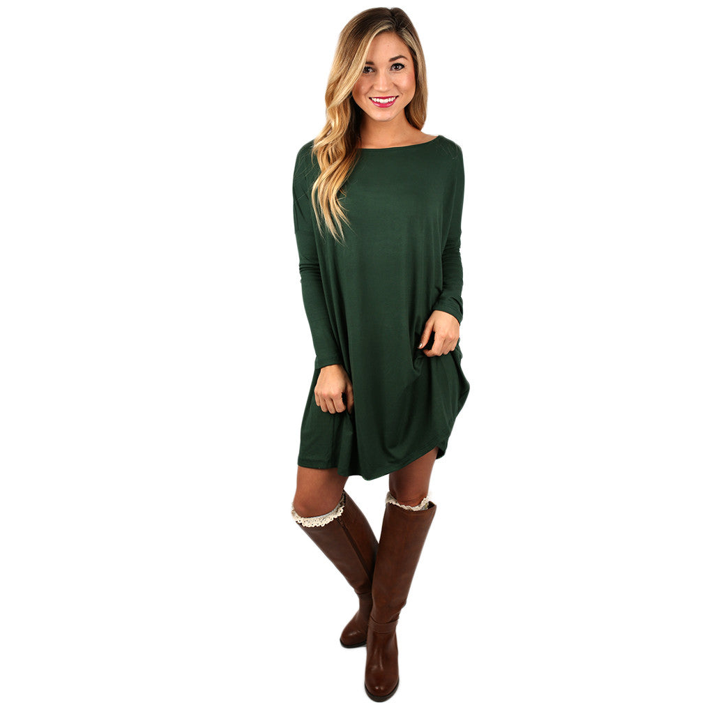 Perfect Little Tunic in Army