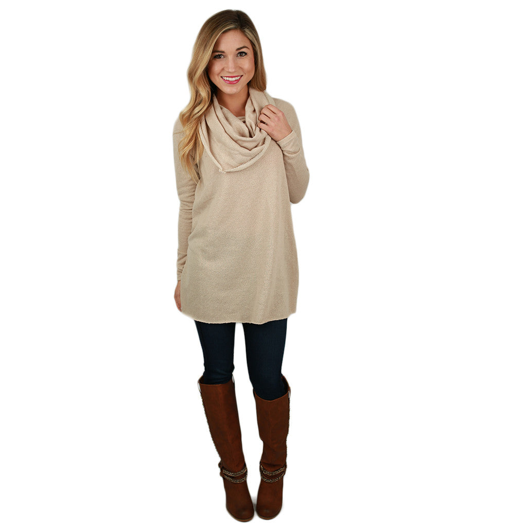 Cozy on the Slopes Sweater in Oatmeal