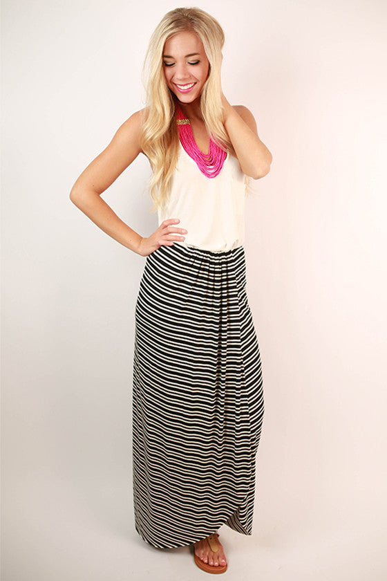 What I'm Dreaming Of Maxi Skirt in Black
