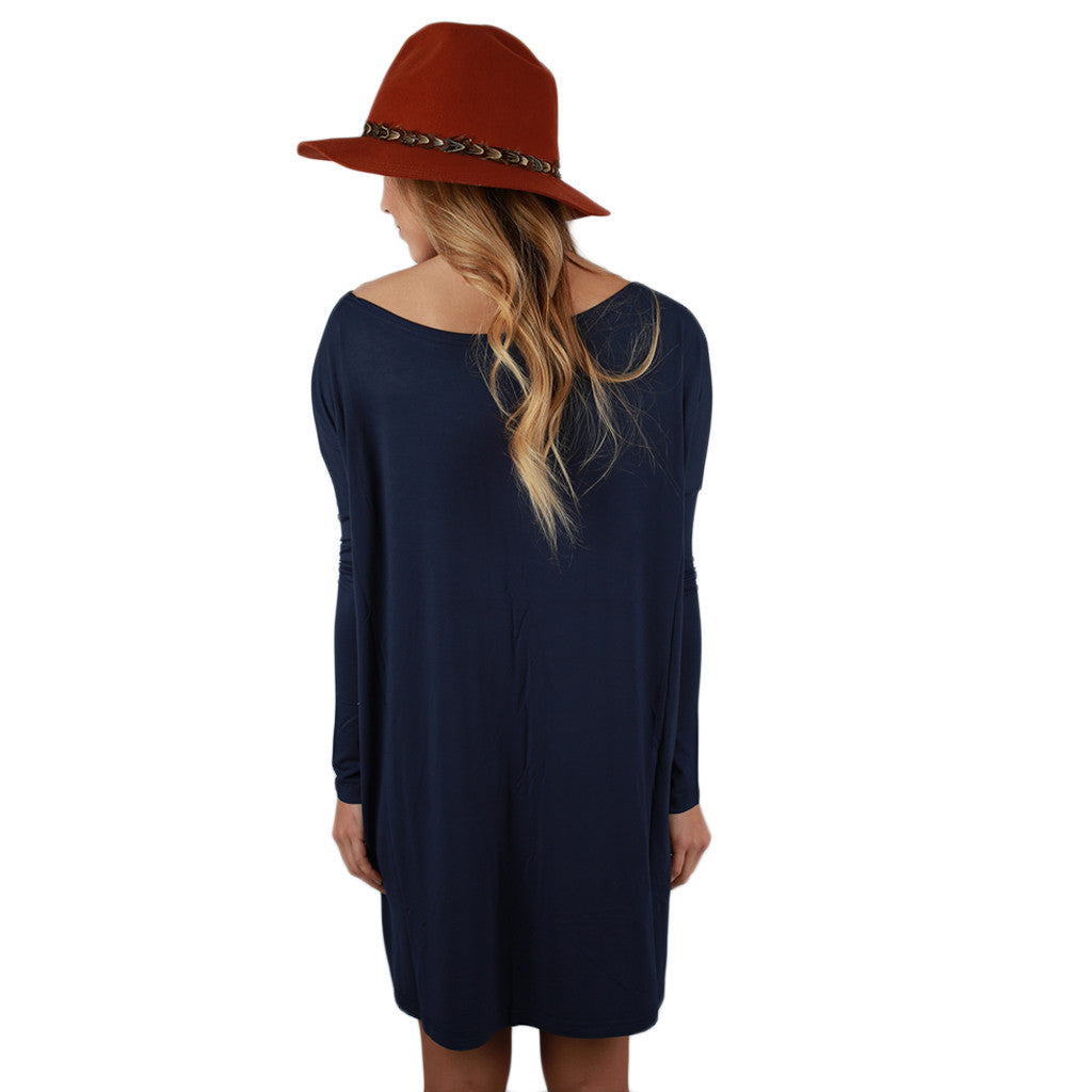 PIKO Tunic in Dark Navy