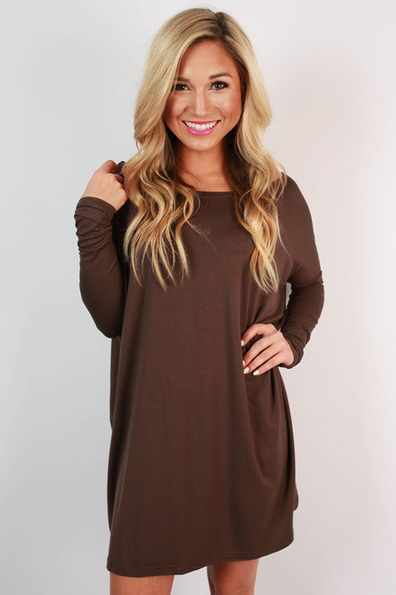 PIKO Tunic in Dark Brown