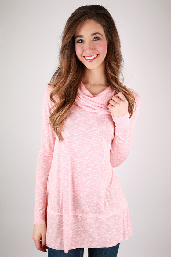 Glamorous Cozy Sweater in Peach