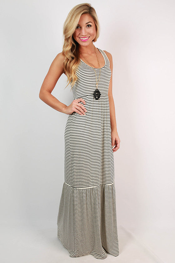 Beautiful on Repeat Maxi in Ivory