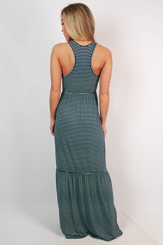 Beautiful on Repeat Maxi in Navy