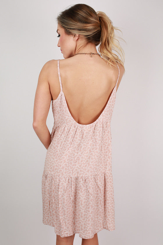 Twirls For Days Baby Doll Dress in Rose