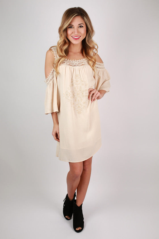 Pardon My Pretty Dress in Cream
