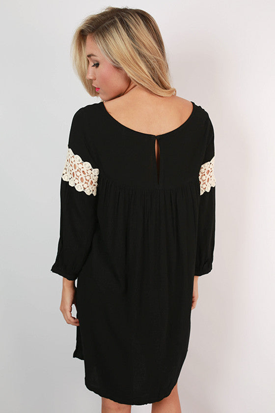 On Cloud Nine Dress in Black