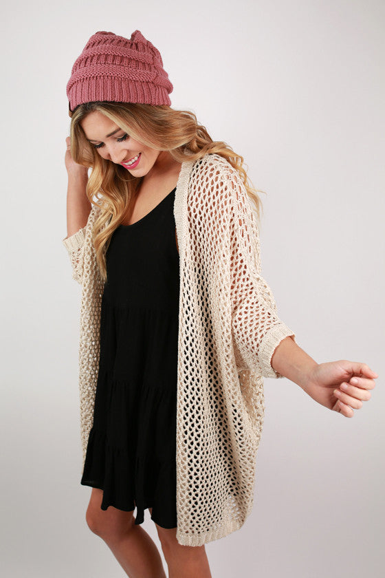 Ocean Breeze Cardigan