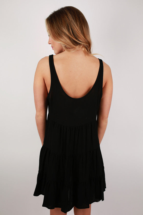 For The Twirl Of It Dress in Black