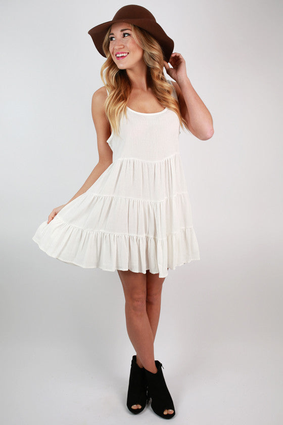 For The Twirl Of It Dress in Ivory