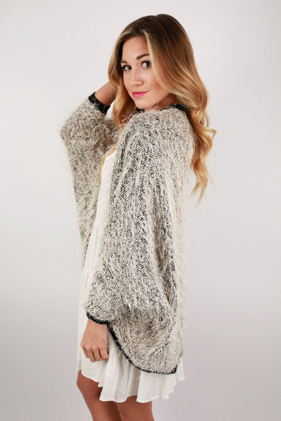Icing on Top Cardigan