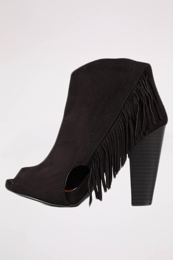 The Audrey Bootie in Black