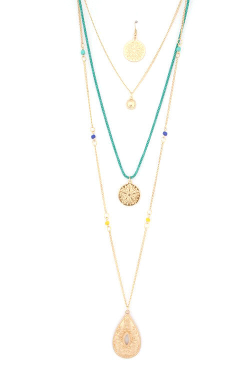 Lucky Layers Necklace