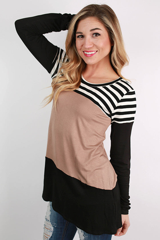 Girl's Best Friend Stripe Tunic