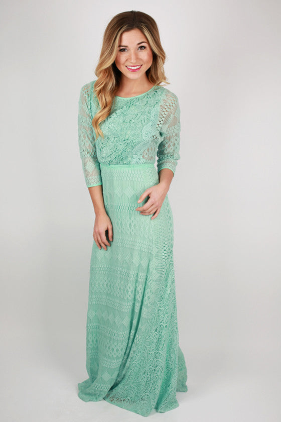 Mint To Be Maxi