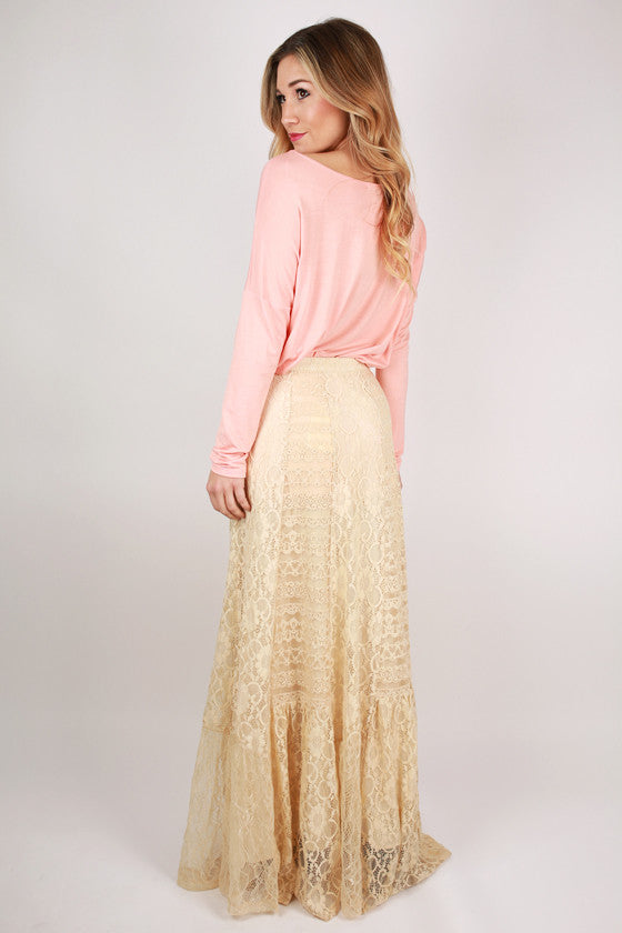 Ever So Blissful Maxi Skirt