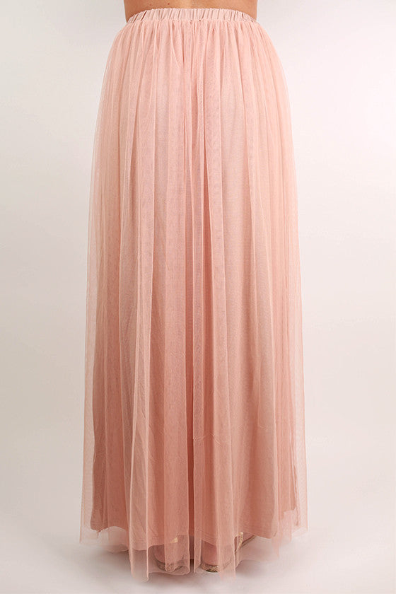 Blushing & Bliss Maxi Skirt