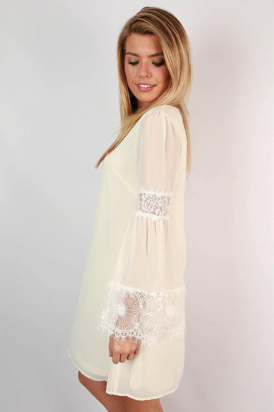 All About That Lace Dress in Ivory
