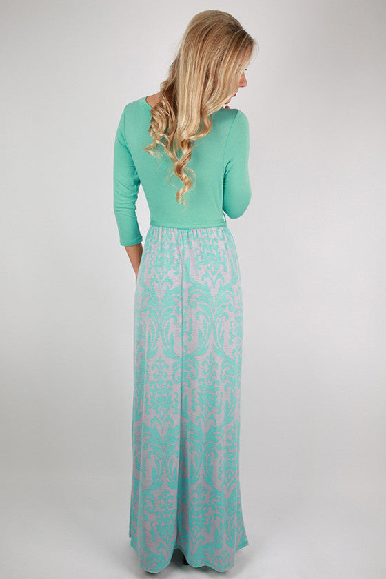 Time To Shine Maxi in Mint