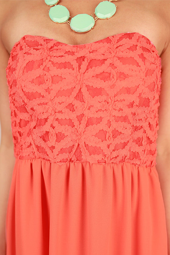 The Best Day Ever Maxi in Coral