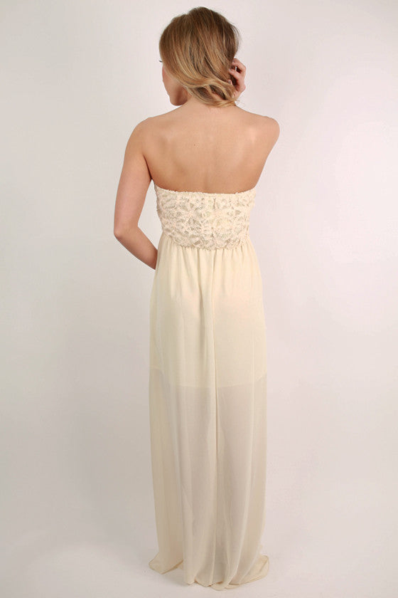 The Best Day Ever Maxi in Ivory