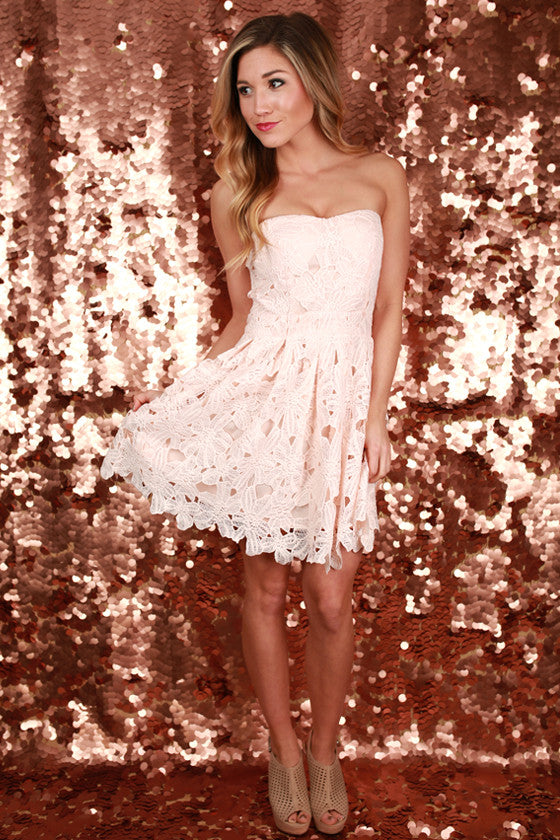 Imagine The Beauty Dress in Blush