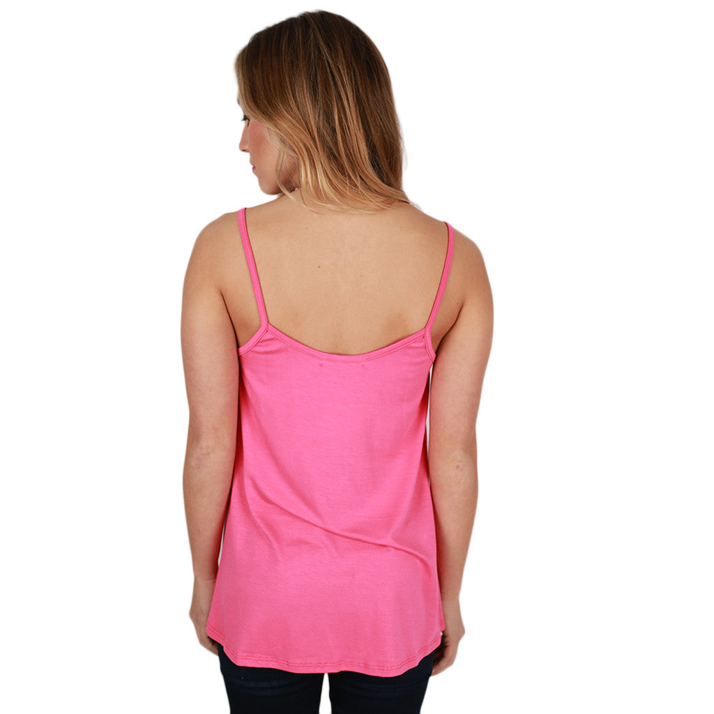 Bamboo Swing Tank in Pink