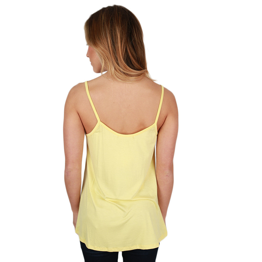 Bamboo Swing Tank in Yellow