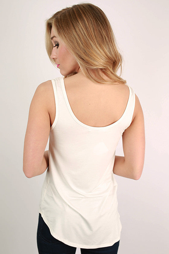 At First Crush Tank in Ivory