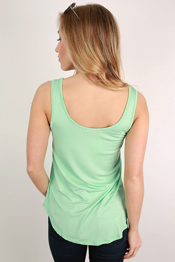 At First Crush Tank in Mint
