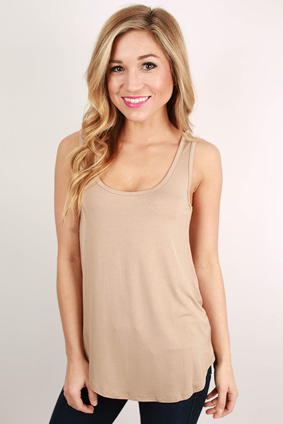 At First Crush Tank in Mocha