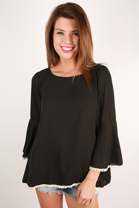 Perfect Scenario Top in Black