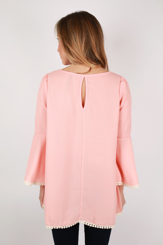 Perfect Scenario Top in Peach