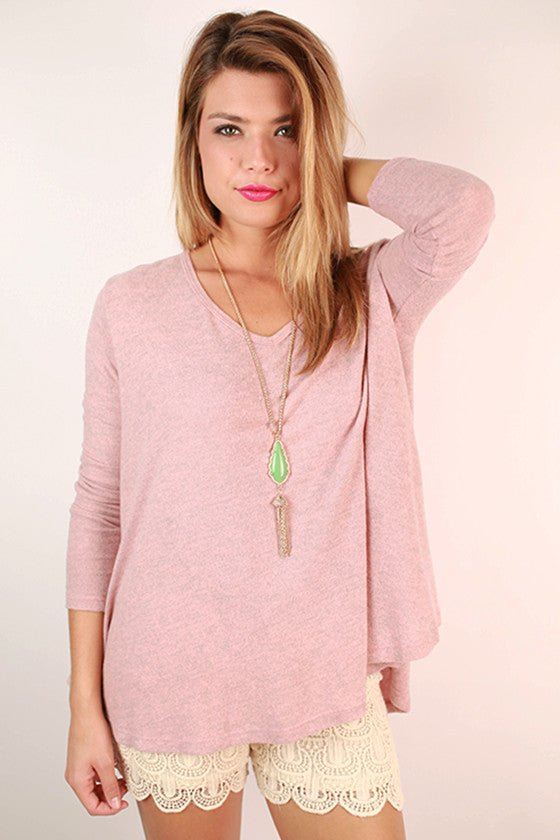Sunshine All Day Top in Pink