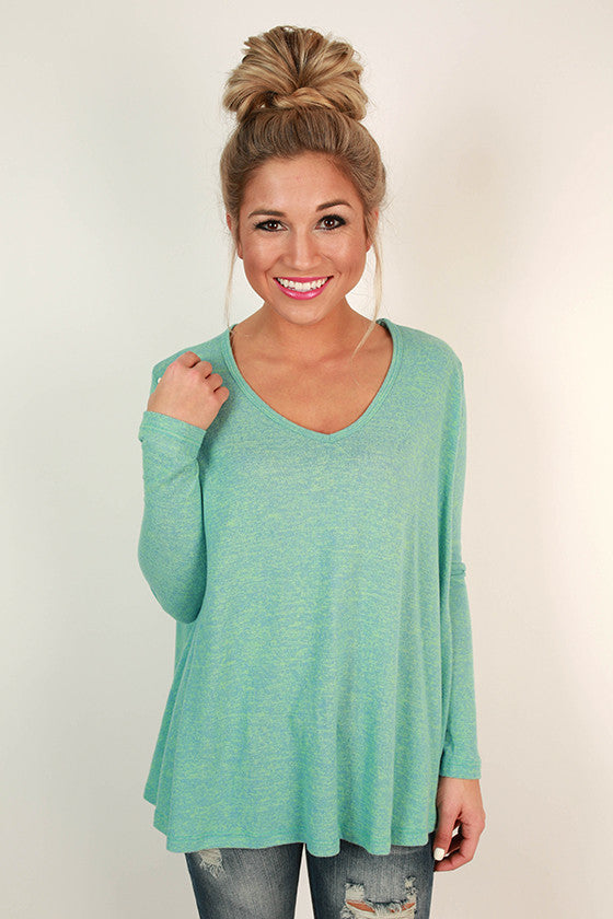 Sunshine All Day Top in Mint