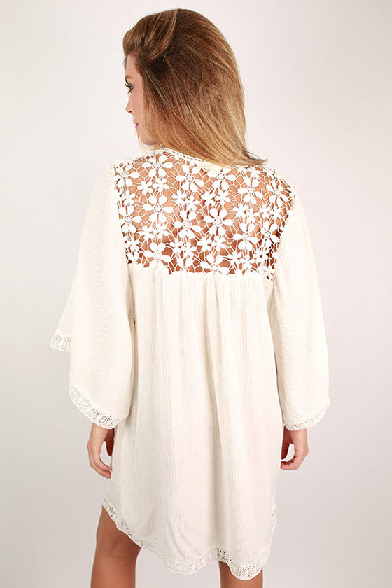 High Demand Lace Dress in Ivory
