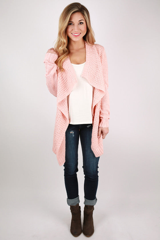 Paris Vacation Cardi