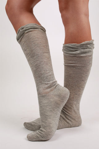 Oh So Chic Sock in Grey